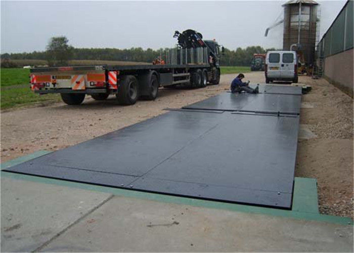 3 X 16m Size Steel Deck Weighbridge Large Capacity Easy Assembly And Installation