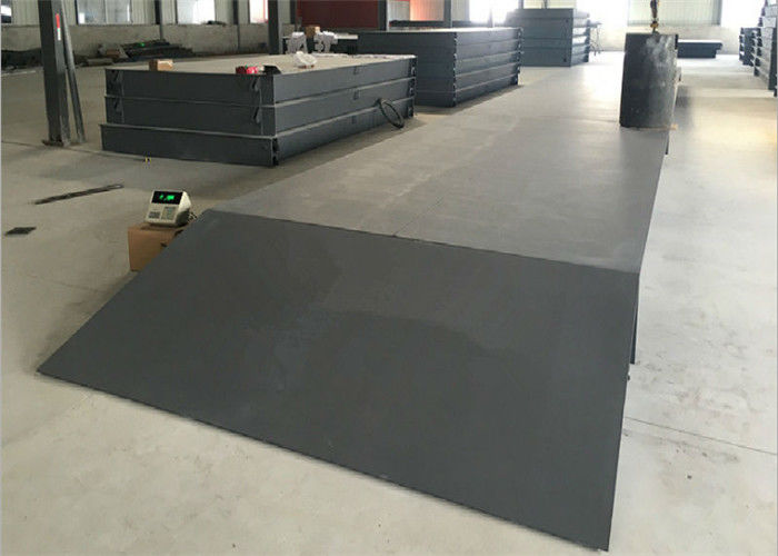 Q235B Steel Material Digital Truck Scales With Plain Steel Plate Type